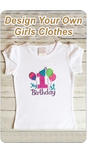 Design Your Own Girl's Clothes