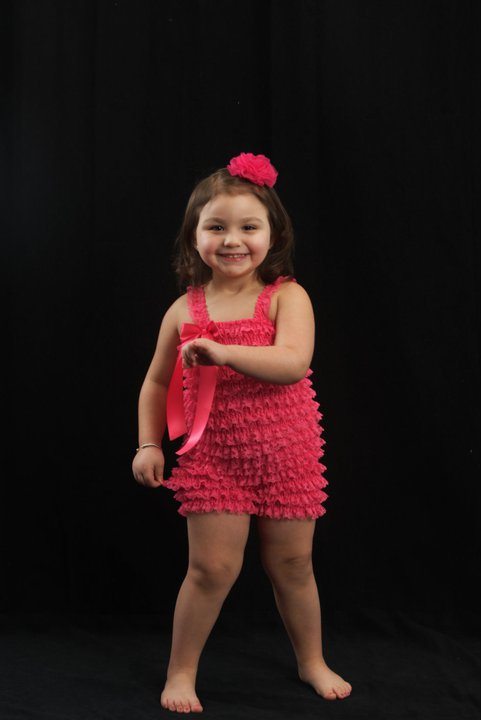 Hot Pink Petti Romper The Couture Baby Amp Child Boutique
