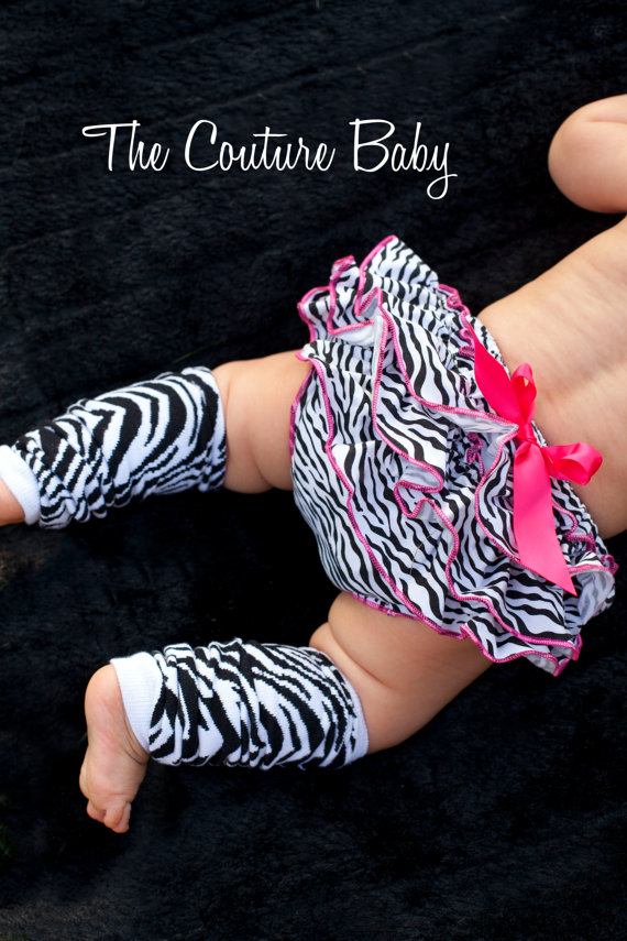 Zebra Leg Warmers The Couture Baby Amp Child Boutique
