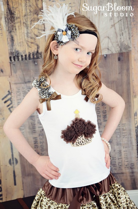 Leopard Flowers Amp Ostrich Feather Vintage Headband The