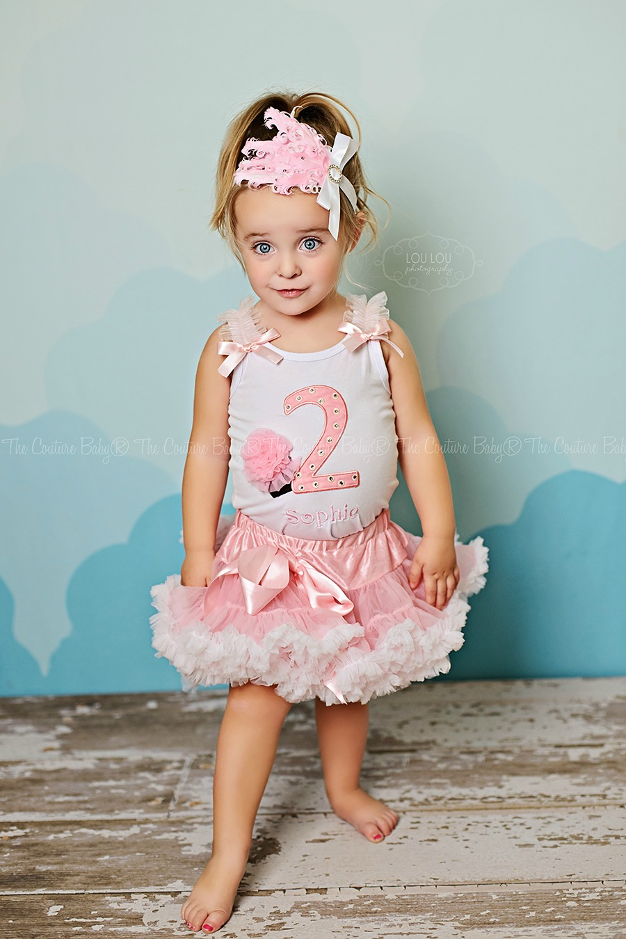 I M Two Sweet Icing Polka Dot Pettiskirt Set The Couture