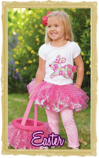 Baby, Toddler & Child  Easter Clothes & Accessories for Girls & Boys Personalized Customized
