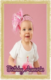 Baby, Toddler & Little Girl Birthday Clothing Accessories Personalized Customized