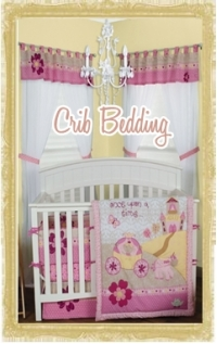 Custom Baby Crib Bedding Sets for Girls & Boys