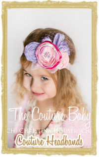Baby, Toddler & Girl Couture Headbands Customized