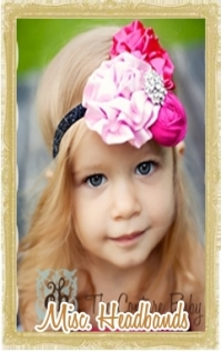 Baby, Toddler, & Girl Miscellaneous Headbands Customized