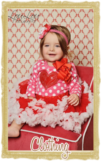 Baby Valentine's Day Clothes for Girls & Boys Personalized Customized