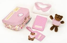 Pink First Suitcase Gift Set The Baby Bunch - The Couture Baby