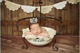 Crown Royalty Baby Tiara