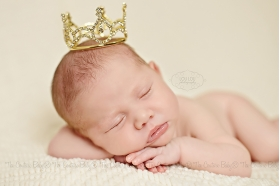 Golden Majesty Baby Crown