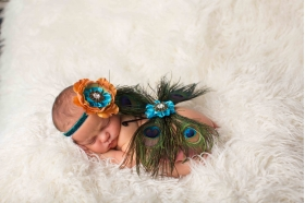 Peacock Eye Blue & Green  BUTTERFLY Wing and Headband 2 Piece Set Beautiful Photo Prop