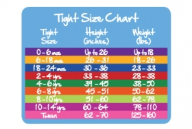 Pink Smooth Tights chart