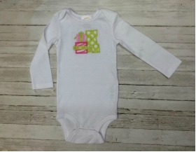Christmas Gift Initial Onesie or Shirt