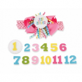 Mud Pie® Monthly Milestone Headband Set
