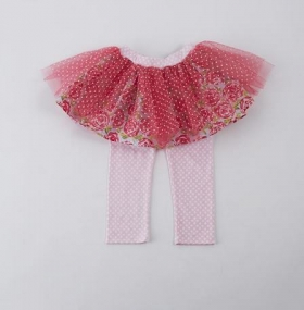 Easter Bunny Pink Tutu Skirt Set