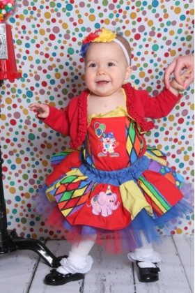 Going To The Circus Twirl Dress Set