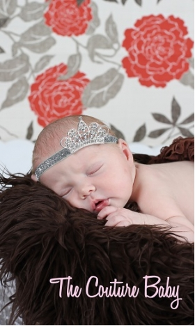 Sleeping Princess Baby Headband