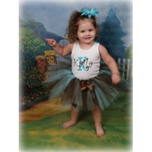 Birthday Cupcakes Tutu Tank or Shirt  Set
