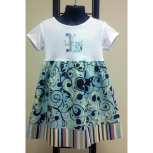 Girl's Artist's Palette Couture T Dress
