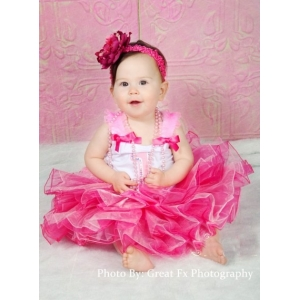 Pink Bubblegum Princess Birthday Tutu Set