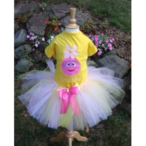 Foofa Birthday Tutu Set