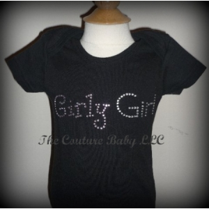 Girly Girl Crystal Onesie