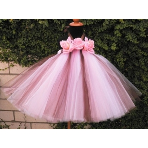 Neopolitan Ice Cream Tutu Dress