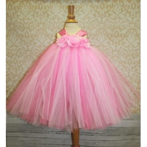 Pinkalicious Fluffy 2 Tone Pink Tutu Dress