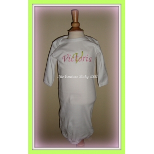 Personalized Layette Gown