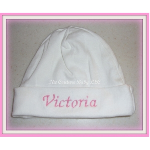 Personalized Layette Hat