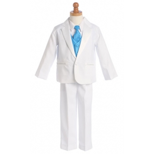 Toddler or Boys White or Black Color Change Tuxedo