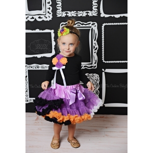 Halloween Bouquet Pettiskirt Set
