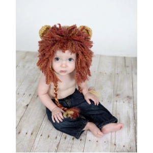 Lil Lion Crochet Hat