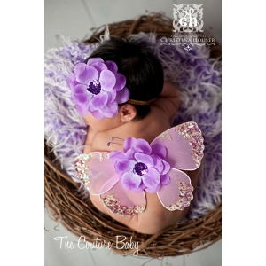 Amethyst Dreams Butterfly Wings & Headband 2 Pc Set