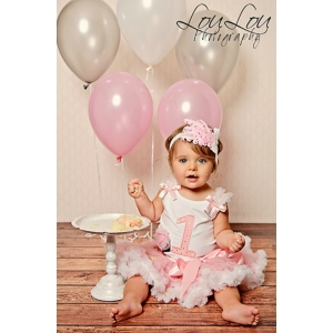 Sweet Icing Polka Dot Pettiskirt Set