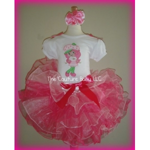 Strawberry Shortcake Pinkalicious Tutu Set