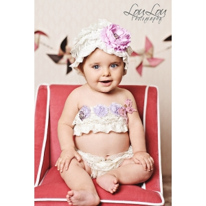 Blooming Butterfly Lace 3 Piece Set