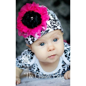 Damask Diva Ruffled Hat
