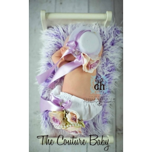 Bella Couture Lilac Bloomers
