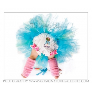 Totally Teal Tutu