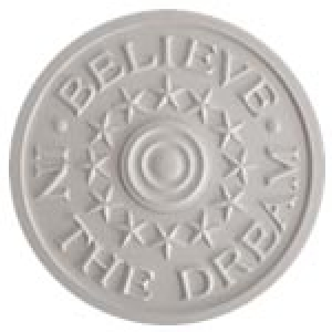 Believe in the Dream Ceiling Medallion Marie Ricci