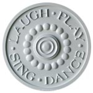 Laugh Play Sing Dance Ceiling Meda