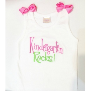 Kindergarten Rocks  Shirt Customize Colors!