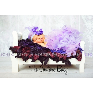 Lavender Feather Pettiskirt
