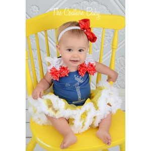 Snow White Princess Crystal Birthday Pettiskirt Set