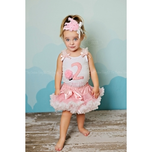 I'm Two Sweet Icing Polka Dot Pettiskirt Set