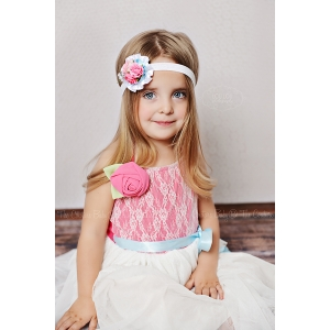 Petit Bouquet Floral Headband