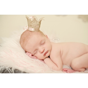 Mini Couture Lace Baby Crown