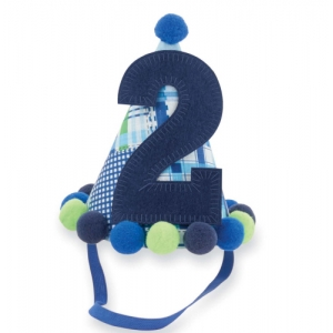 I'm Two Boys Birthday Hat