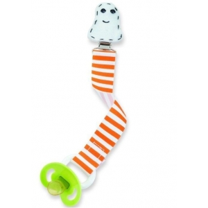 Ghost Pacifier Clip